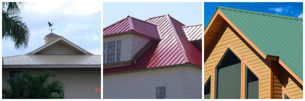 Metal Roof Types Standing Seam Vs. 5v crimp Metal Roofing in North Port & Sarasota