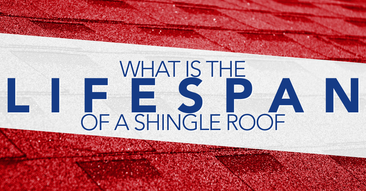 What is the lifespan of a shingle roof